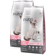 Nutrilove STERILE cat fresh chicken 2 × 7 kg - Granule pro kočky