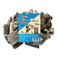 NATURECA pochoutka losos kůže sušená kousky 100 g - Pamlsky pro psy