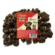NATURECA pochoutka masové kostky - Jelen, 100 % maso 150g - Sušené maso pro psy