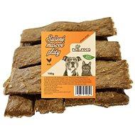 NATURECA pochoutka masové pláty - Kuře,  100% maso 100g - Sušené maso pro psy