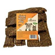 NATURECA pochoutka masové pláty - Ryba,  100% maso 100g - Sušené maso pro psy