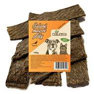 NATURECA pochoutka masové pláty  - Bažant, 100 % maso 100g - Sušené maso pro psy