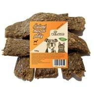 NATURECA pochoutka masové pláty - Jehně,  100 % maso 100g - Sušené maso pro psy
