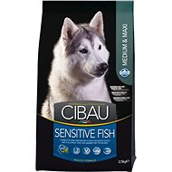 CIBAU Adult Sensitive Fish & Rice 2,5 kg - Granule pro psy