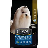 CIBAU Adult Sensitive Fish & Rice Mini 2,5 kg - Granule pro psy