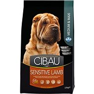 CIBAU Adult Sensitive Lamb & Rice 2,5 kg - Granule pro psy