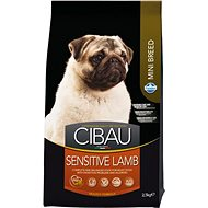 CIBAU Adult Sensitive Lamb & Rice Mini 2,5 kg - Granule pro psy