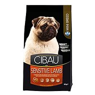 CIBAU Adult Sensitive Lamb & Rice Mini 800 g - Granule pro psy