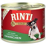 FINNERN konzerva Rinti Gold Senior králík 185g