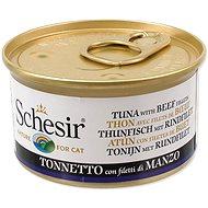 SCHESIR Konzerva tuňák+hovězí+rýže v želé 85g