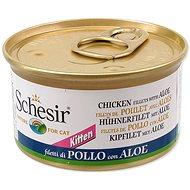 SCHESIR Konzerva Kitten kuřecí+Aloe 85g - Konzerva pro kočky