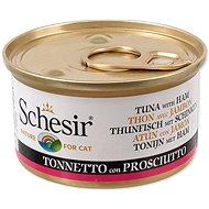 SCHESIR Konzerva tuňák+šunka v želé 85g - Konzerva pro kočky