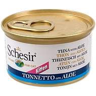SCHESIR Konzerva Kitten tuňák+Aloe 85g - Konzerva pro kočky