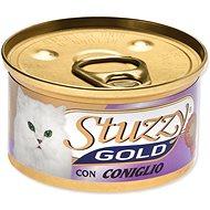 Konzerva STUZZY Gold králík 85g - Konzerva pro kočky