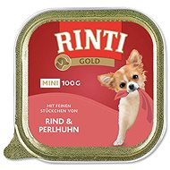 Vanička pro psy FINNERN vanička  Rinti Gold Mini hovězí+perlička 100g