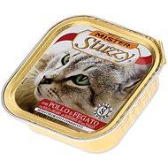 SCHESIR Vanička MISTER STUZZY kuřecí+játra 100g - Konzerva pro kočky