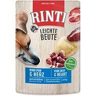 FINNERN kapsička Rinti Leichte Beute hovězí+drůbeží srdíčka 400g - Kapsička pro psy