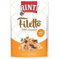 FINNERN Rinti Filetto Chicken + Chicken Heart Jelly 100g - Dog pocket
