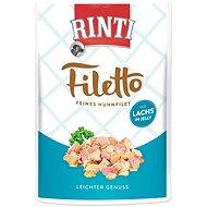 FINNERN kapsička Rinti Filetto kuře+losos v želé 100g - Kapsička pro psy