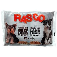 RASCO Kapsička Rasco Dog s kuřecím a hovězím/s jehněčím a kuřecím 4x100g