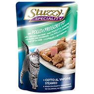 SCHESIR STUZZY Pocket Specialties Chicken + Ham 100g - Cat Food Pouch