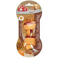 Kost žvýkací Delights Barbecue S 1ks - Kost pro psy