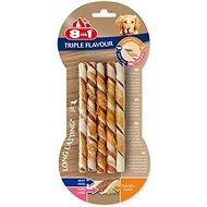 Pochoutka 8in1 Triple Flavour sticks (10ks) - Pamlsky pro psy