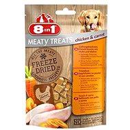 8in1 Dog Freeze Dried Chicken/Carrots 50g 32 XG - Pamlsky pro psy