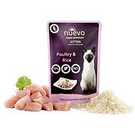 Nuevo kotě kapsa drůbeží s rýží 85g - Kapsička pro kočky