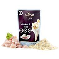 Nuevo kočka kapsa light kuřecí s rýží 85g - Kapsička pro kočky