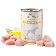 Nuevo pes sensitive kuřecí monoprotein konzerva 400g - Konzerva pro psy