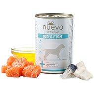 Nuevo pes sensitive rybí monoprotein konzerva 375g - Konzerva pro psy