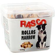 RASCO Sušenky Rasco rollos morkový malý 3cm 530g - Pamlsky pro psy