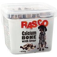 RASCO Pochoutka Rasco kost kalciová sjátry 2,5cm 650g - Pamlsky pro psy