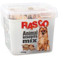 RASCO Sušenky Rasco zvířátka mix 5cm 350g - Pamlsky pro psy