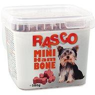 RASCO Pochoutka Rasco mini kost šunková 2cm 580g - Pamlsky pro psy