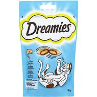 DREAMIES pochoutky s lososem 60 g - Pamlsky pro kočky