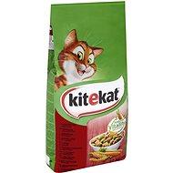 Kitekat granule s hovězím masem a zeleninou 12 kg - Granule pro kočky