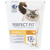 Perfect Fit granule Sensitive s krůtím masem 750 g - Granule pro kočky