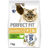 Perfect fit granule Sensitive krůtí 7 kg - Granule pro kočky