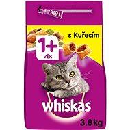 Whiskas granule kuřecí pro dospělé kočky 3,8 kg - Granule pro kočky
