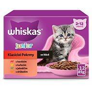 WHISKAS Klasický výběr ve šťávě 12x100g - Kapsička pro kočky