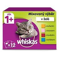 Whiskas Mixovaný výběr ve šťávě 12x100g - Kapsička pro kočky