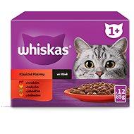 Whiskas kapsička Klasický výběr ve šťáve 12x100g - Kapsička pro kočky