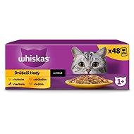 WHISKAS Drůbeží výběr ve šťávě 12x100 g - Kapsička pro kočky
