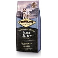 Carnilove salmon & turkey for puppy 12 kg - Granule pro štěňata