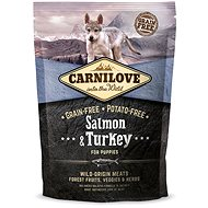 Carnilove salmon & turkey for puppy 1,5 kg - Granule pro štěňata