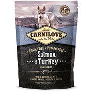 Carnilove salmon & turkey for puppy 1,5kg - Granule pro štěňata