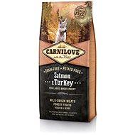 Carnilove salmon & turkey for large breed puppy 12kg - Granule pro štěňata