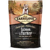 Carnilove salmon & turkey for large breed puppy 1,5kg - Granule pro štěňata